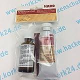 Haro Spezialkitt-Set zur Reparatur von Ahorn oder hellem Buche Parkett, Laminatboden oder auch Möbeloberflächen