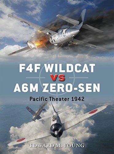 F4F Wildcat vs A6M Zero-sen: Pacific Theater 1942 (Duel, Band 54)