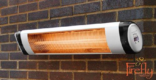 Estufa para Pared con Termostato y Mando a Distancia - Firefly 2 kW