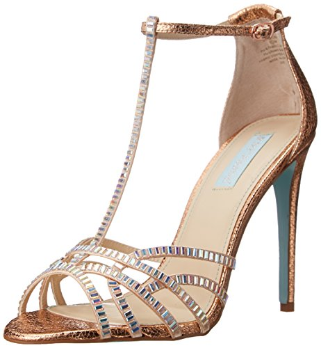 Betsey Johnson Ruby Synthétique Sandales Rose Gold