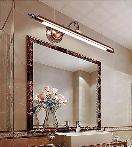 Flashing- LED Spiegelleuchten European American Minimalist Badezimmerspiegelschrank Licht Rasierspiegel Licht Wasser-Nebel ( größe : 59cm ) (Anti-fog-rasierspiegel)