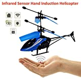 Infrared induction Helicopter Sensor Aircraft (Without Remote) USB Charger Flying Heli Plane