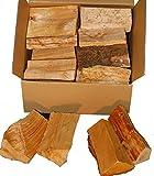 Landree 15 kg Smoker Holz Erle Alder Smoker Wood Räucherholz Brennholz (Erle)