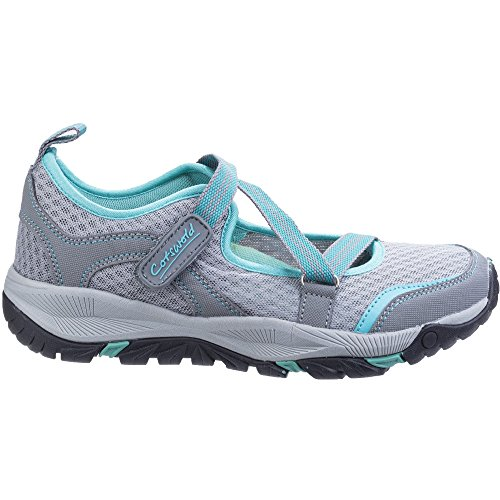 Cotswold Womens/Ladies Norton Lightweight Breathable Hikers Shoes Grey