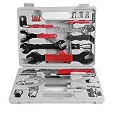 ALTERDJ 44 TLG. Fahrrad Werkzeugkoffer, Fahrradwerkzeug Reparaturset, Multifunktionswerkzeug Set, Multitool Fahrradwerkzeugset