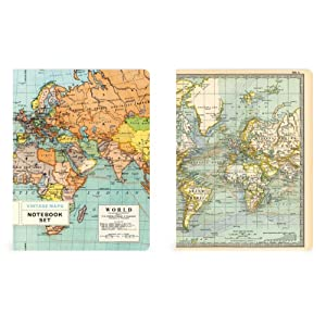 Notebook Set of 2 Maps: Nbset/Map