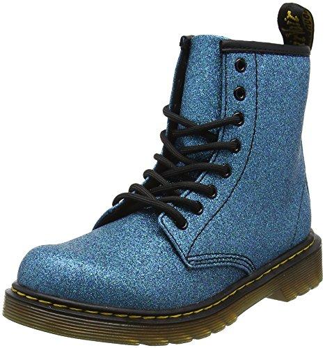 Dr. Martens Unisex-Kinder Delaney GLTR Klassische Stiefel, Blau (Laser Lake Blue 461), 28 EU