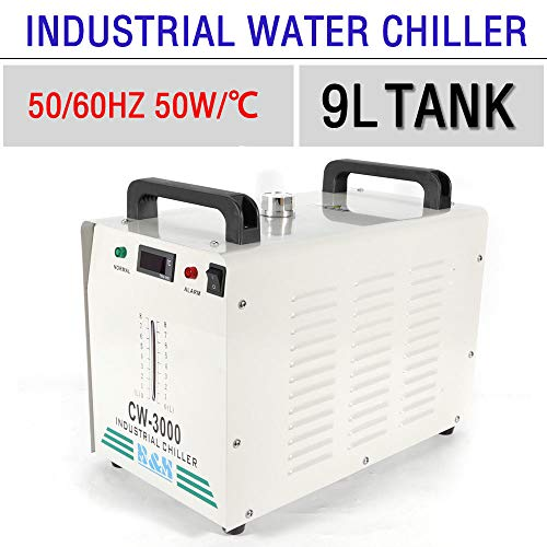 TABODD CW-3000 Industrielle Wasserk/ühler Thermolyse Typ Industrial Water Chiller Water Cooler for CNC Engraving Machines