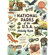 Grace, C: National Parks of the USA: Activity Book