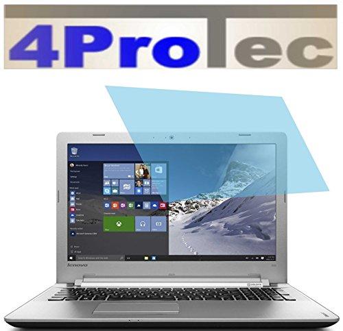 4ProTec 2 Stück GEHÄRTETE ANTIREFLEX Displayschutzfolie für Lenovo IdeaPad 500 15,6 Zoll Bildschirmschutzfolie Schutzhülle Displayschutz Displayfolie Folie