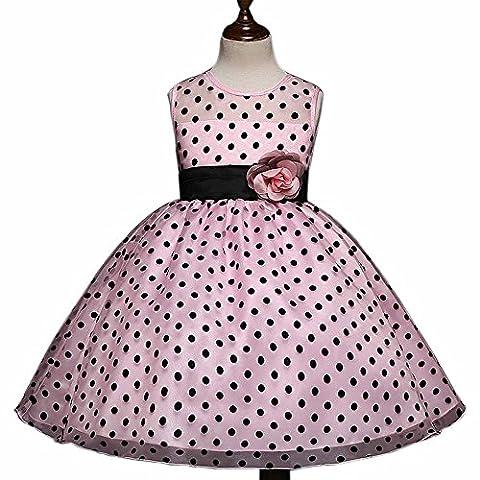 Wenseny Girls Polka Dot Skirt 50s Swing Vintage Retro Rockabilly