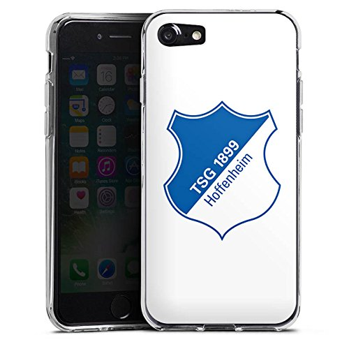 Apple iPhone X Silikon Hülle Case Schutzhülle TSG Hoffenheim Fanartikel Fußball Silikon Case transparent