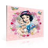 Disney Prinzessinnen Schneewittchen Leinwand Bilder (PPD678O2FW) - Wallsticker Warehouse - Size O2 - 80cm x 80cm - 230g/m2 Canvas - 1 Piece