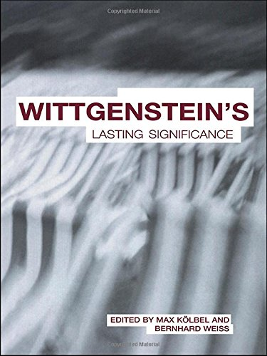 Wittgenstein's Lasting Significance