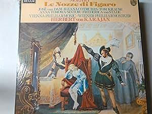 MOZART, Wolfgang Amadeus: Le nozze di Figaro -- DECCA ()-van Dam, Cotrubas, Krause, Wiener Philhamoniker, Karajan H.-VINYL-DEC D132D4-DECCA - Inghilterra-MOZART Wolfgang Amadeus (Austria)-KARAJAN Herbert von (dir)