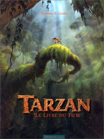 Le livre du film : Tarzan par Howard E. Green