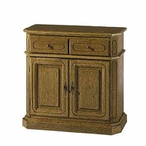 klassiches sideboard in eiche rustikal p43 k che haushalt. Black Bedroom Furniture Sets. Home Design Ideas