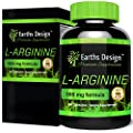 L-Arginine, The Essential Amino Acid that Increases Muscle Growth and Strength, Arginine Promotes Nitric Oxide Levels & Protein Synthesis, Made in the UK, 500mg - 90 Capsules
