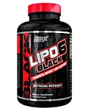 Nutrex LIPO 6 BLACK EXTREME FAT BURNER / DESTROYER 120 caps Diet & Weight Loss Support *NEW DMAA-Free Legal version* by Nutrex