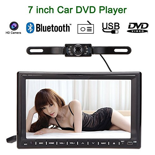 Erfordert Hd-dvd-player (kkmoon  Auto player  DVD/USB/SD  Bluetooth GPS radio HD Auto Entertainment-Systeem 3 G WIFI 7 inch 2 DIN)