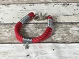 Tau-Halsband Größe 29-31cm Rot
