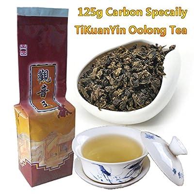 Le thé oolong cuit au four de carbone de haute qualité carbone a cuit le thé naturel de Tieguanyin de thé frais et frais de thé de TiKuanYin Oolong thé de haute qualité 125g (0.28LB)
