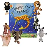 Giraffes Can't Dance Book With Puppets