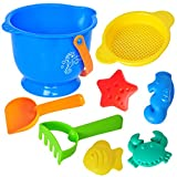 #9: NOVICZ Beach Toy Set for Kids,Sand Play Set with Different Models Kids Toy Baby toys