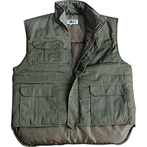 McAllister Robuste Rangerweste Gefütterte Arbeitsjacke Jägerweste Outdoorkleidung verschiedene Ausführungen Oliv