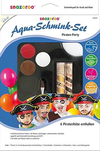 Mammut 122001 - Aqua Schmink Set Piraten Party