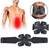 XINGXINGFAN Cintura da Allenamento per EME, stimolatore Muscolare Addominale Elettrico