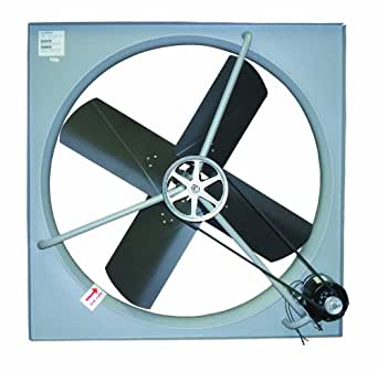 "TPI Corporation CE-42-B Commercial Exhaust Fan, Single Phase, 42"" Diameter, 120 Volt"