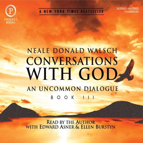 Buchseite und Rezensionen zu 'Conversations with God' von Neale Donald Walsch