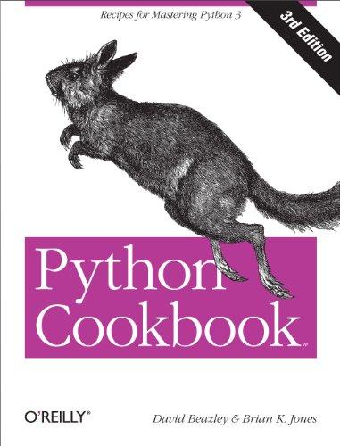 Python Cookbook: Recipes for Mastering Python 3