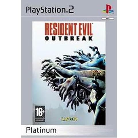 Resident Evil: Outbreak - Platinum Edition (Sony PS2) [Importación Inglesa]