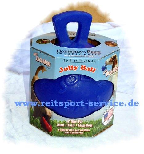 Jolly Pferdeball Hundeball Horsemen's Pride ball blau -