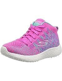 Skechers - Zapatillas de Tela para niña rosa rosa