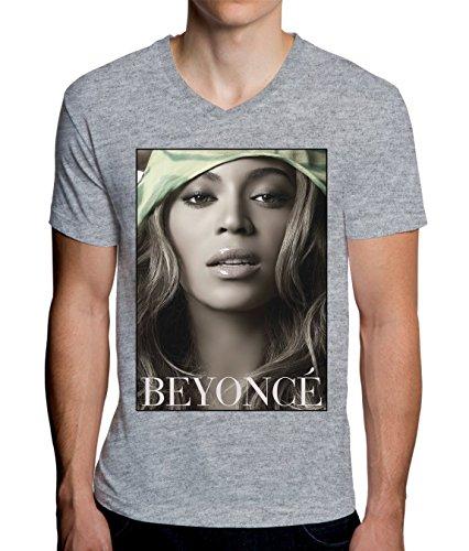 beyonce-singer-portrait-graphic-design-mens-v-neck-t-shirt-medium