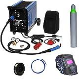 Güde Schutzgas Schweißgerät Mig 192/6K + Edelstahlrolle, Drahtseele, Schweißhelm, Argon Schutzgas