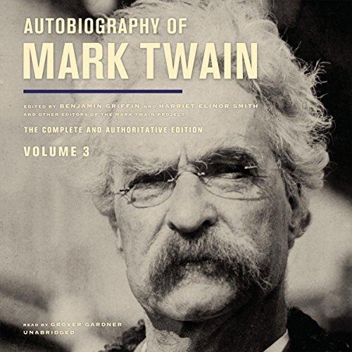 Autobiography of Mark Twain, Vol. 3  Audiolibri