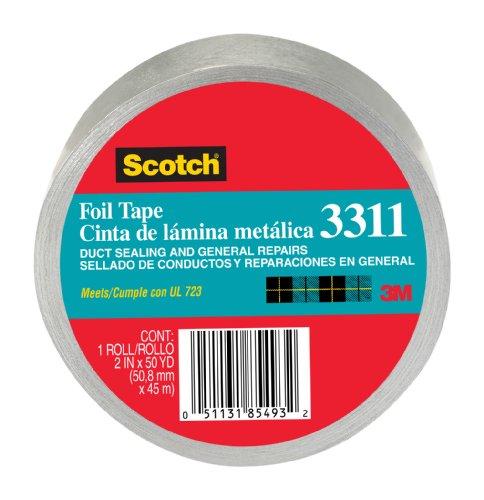 SCOTCH FOIL TAPE  2-INCH BY 50-YARD