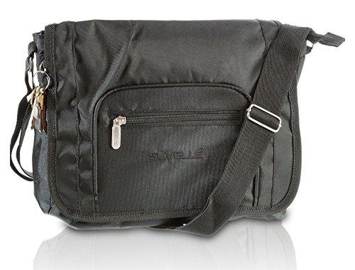 Suvelle Flapper Travel Crossbody Bag, (Womens Hobo Medium Michael Kors Michael)