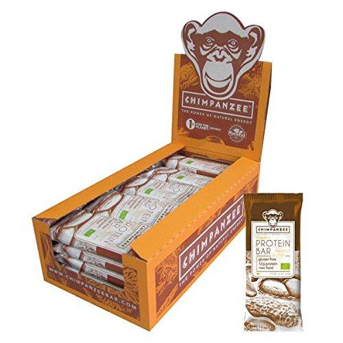 Chimpanzee - Organic protein bar - 45g - Erdnuss, 25 Einheiten Box (Einheit Box)