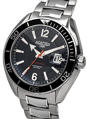 Roamer Searock Pro Orologio da Polso, Cronografo, Uomo, Acciaio Inox,...