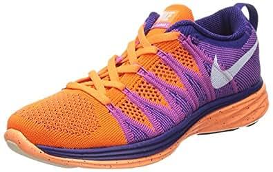 nike womens flyknit lunar2 running trainers 620658 815 sneakers shoes (uk 3 us 5.5 eu 36)