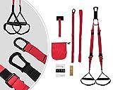 Leogreen - Schlingen-Trainer , Schlingentrainer, Material: Hochfestes Polyester, Länge des Verlängerungsriemens: 95 cm