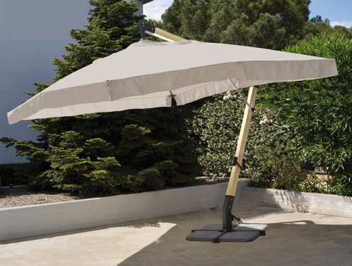 """Preisvergleich Produktbild 'Sonnenschirm A 435201640500aus Holz beige """"Ios 300x 400x 238h cm."""
