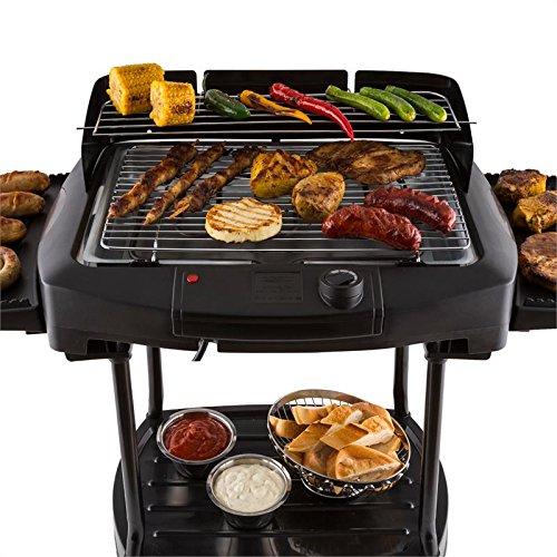 OneConcept Dr. Beef II • Grill de Table • Grill extérieur • Barbecue sur Pied •...