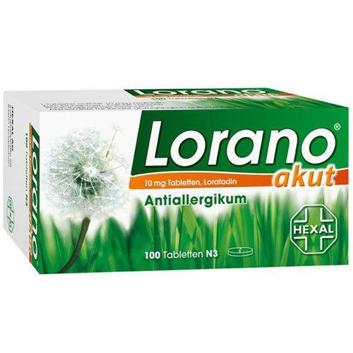 Lorano akut Tabletten, 100 St.