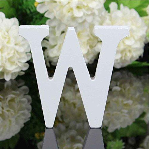 buchstaben Alphabet Wandbehang Hochzeit Home Shop Dekoration ()